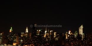 Notre hôtel à New York avec une superbe vue sur Manhattan !