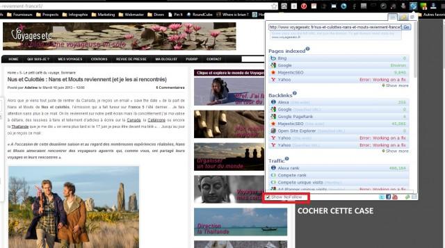 comment savoir si un blog est en DoFollow