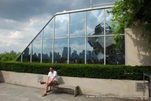 Sur le Roof Garden du musée du MET, une vue imprenable sur Manhattan et Central Park