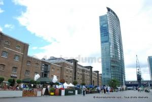 que faire a Londres meilleures idées visites - les docks