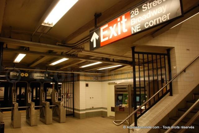 Prendre le métro à New York ne coute vraiment pas cher