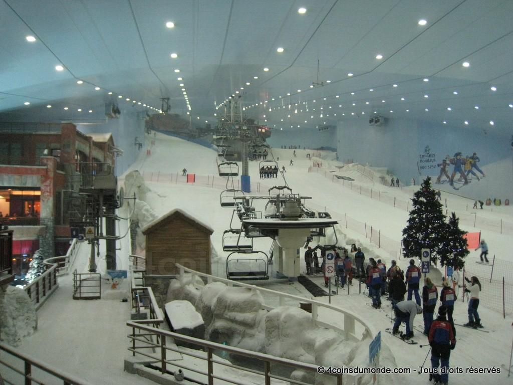 budget Ski Dubai prix et tarif