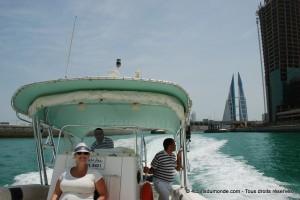 La sortie en bateau privé dans la marina de Bahreïn