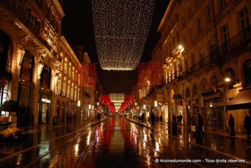 Le cours de l'intendance de Bordeaux à Noël