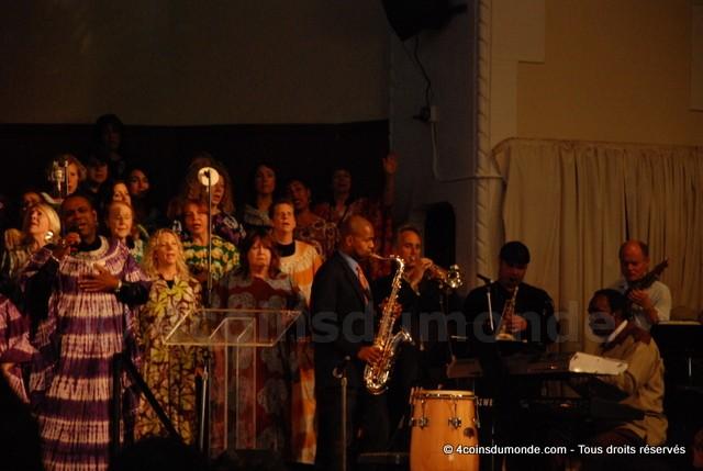 La messe gospel a San Francisco