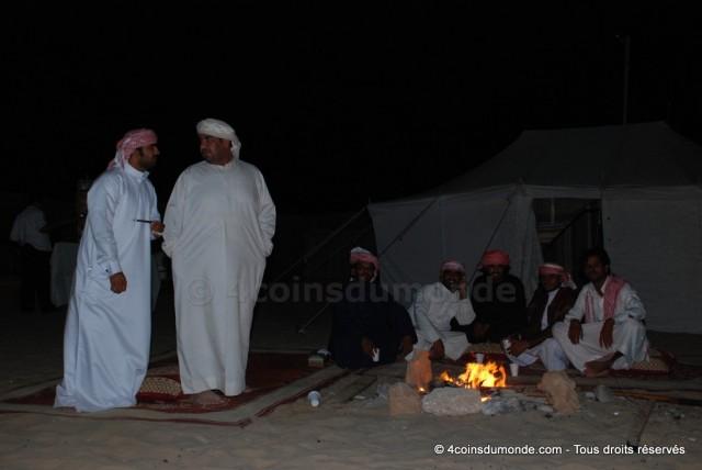 Réveillon du 31 décembre dans le désert