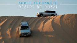 Sortie 4×4 dans le désert de Dubaï