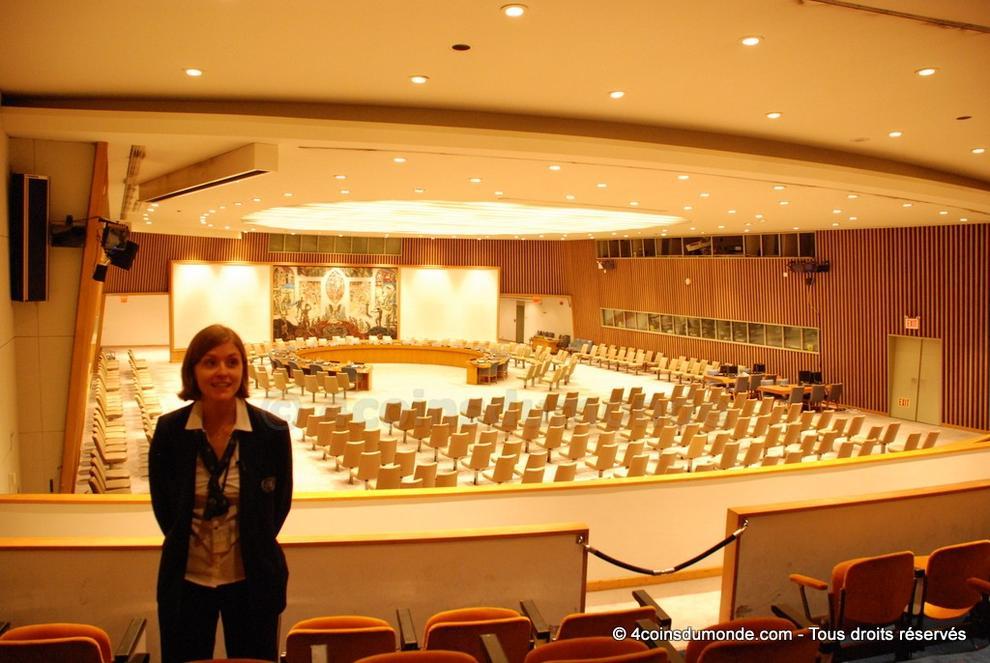 La Salle Du Conseil De Scurit LONU