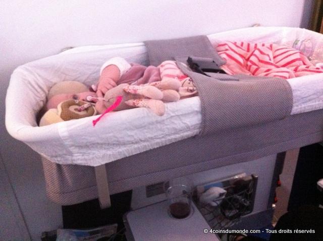 comment ca fonctionne une nacelle pour bebe dans un avion