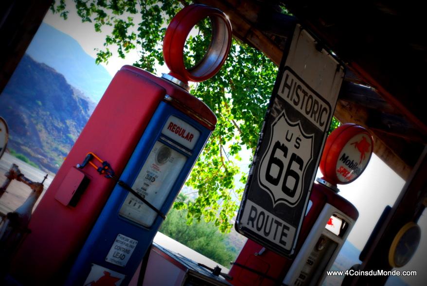 station service typique route 66