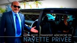 On a testé : le transfert à l'aéroport de Nice en navette privée