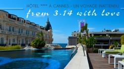 On a testé : le 3.14 à #Cannes – Hôtel 4 étoiles avec piscine et jacuzzi sur le toit