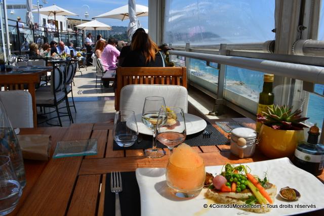 restaurant toit terrasse Le Méridien Nice