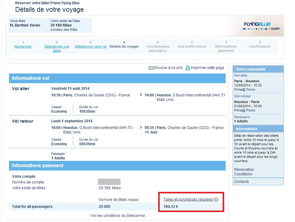 Les USA pour moins de 200€ avec les miles Air France
