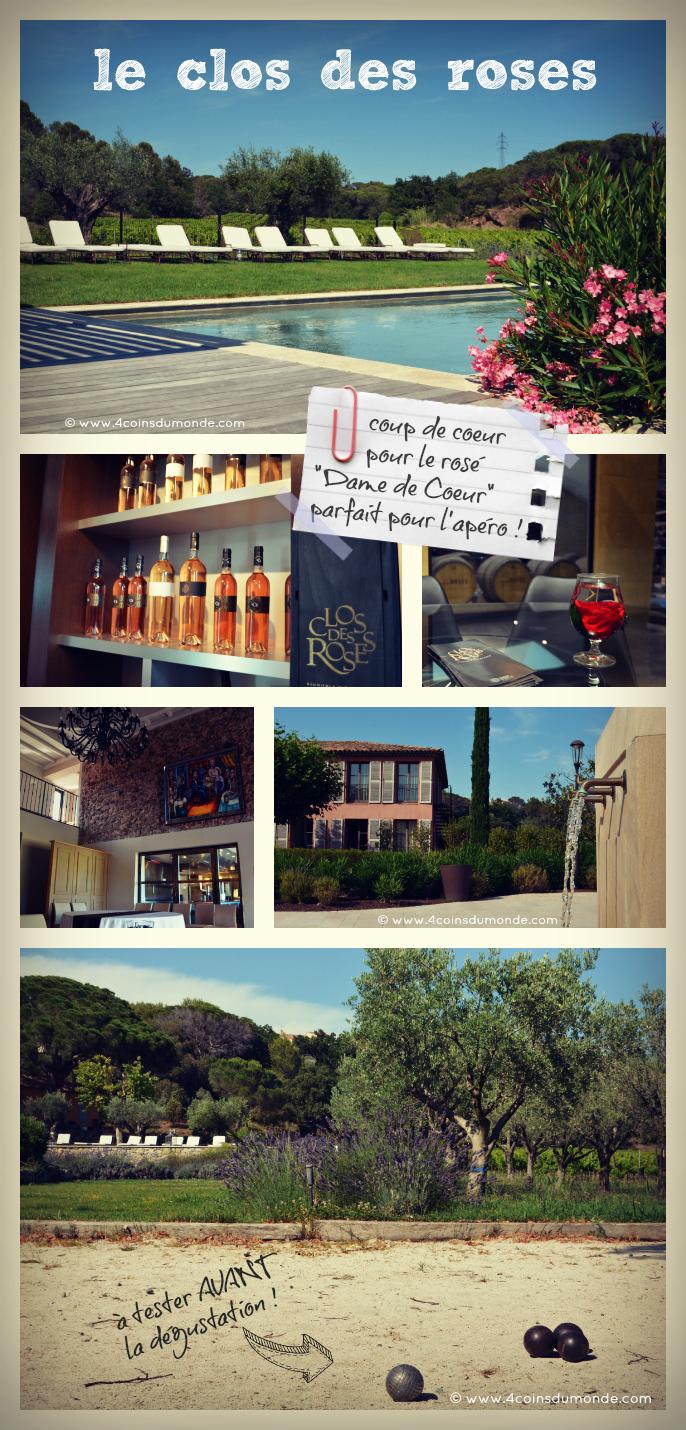 visite et degustation vin Esterel le clos des roses frejus
