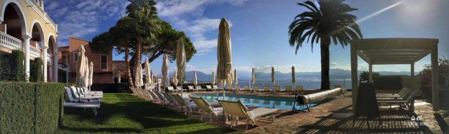 piscine jacuzzi plage privée Hotel les Mouettes Ajaccio