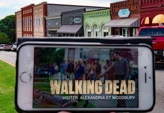Où trouver Alexandria et Woodbury de la série The Walking Dead
