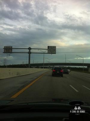 les voies reservees sur les autoroutes au etats unis
