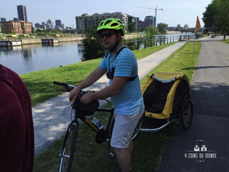 louer un vélo avec un enfant montreal