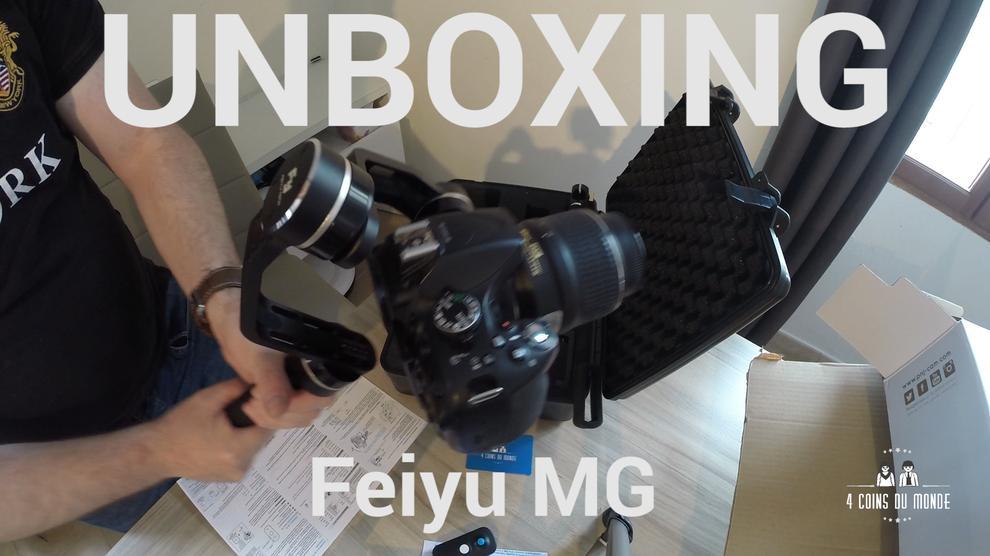 umboxing Feiyu MG gimbal