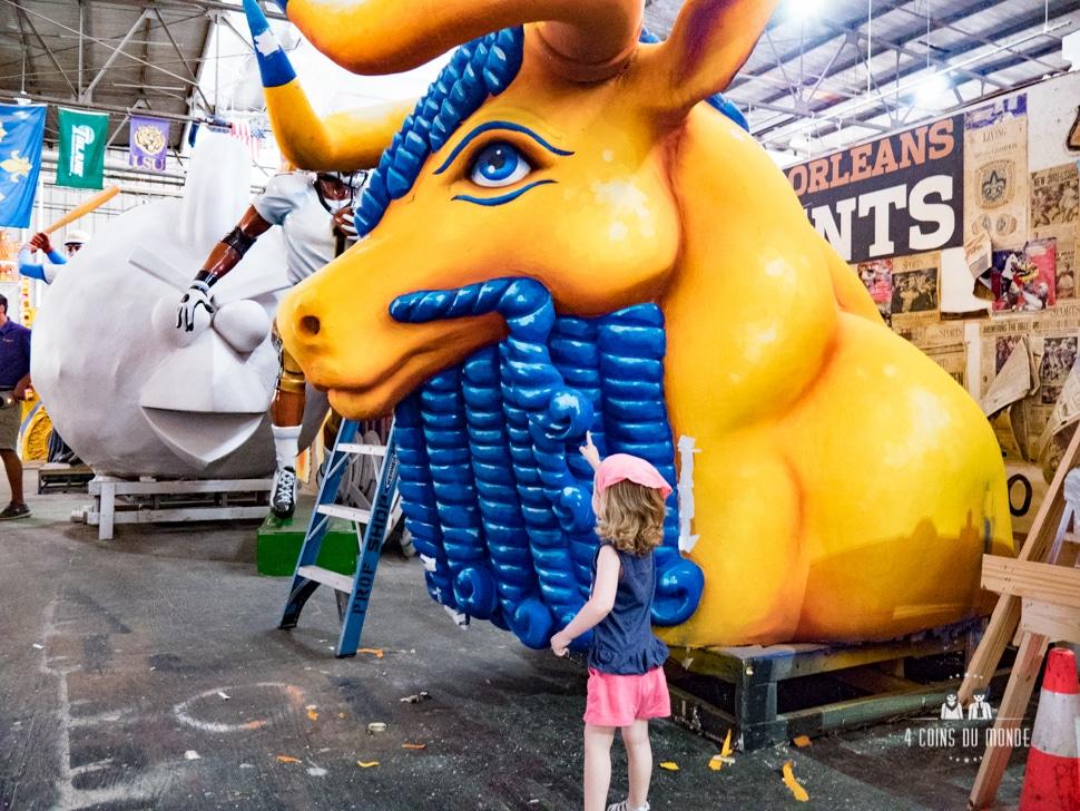 Visiter le musée Mardi Gras à la Nouvelle Orléans